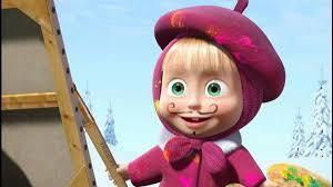 balik karakter animasi masha and
