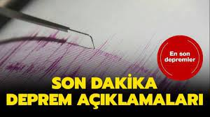 2 Şubat Kandilli Rasathanesi son dakika deprem haberleri