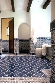 dark blue bathroom tiles. Interesting Tiles Spanish Style Floor Tiles Dark Blue Bathroom Ideas And Pictures  Intended Dark Blue Bathroom Tiles 3
