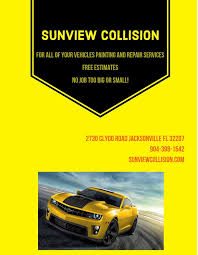 sunview collision s 2730 clydo rd mandarin jacksonville fl phone number yelp