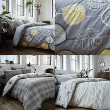 sentinel racing green duvet quilt cover polycotton bedding sets grey yellow silver