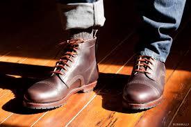 eastland monroe cap toe boot dark brown by blind bully