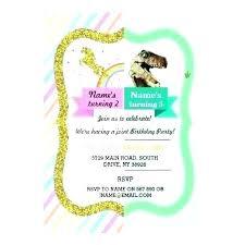 free dinosaur party invitations dinosaur party invitations decorations uk jwintz