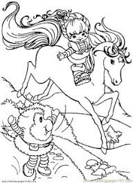 Small Picture Rainbow Brite 999 Coloring Pages Crafty 80s Rainbow Brite