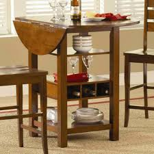 Kitchen Table For Small Spaces Chic Drop Leaf Kitchen Tables For Small Spaces Regarding Drop Leaf