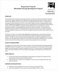 9 Development Project Proposal Templates - Free Sample, Example ...