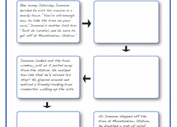 Choose Your Own Adventure Story Template Writing Stories Worksheets Free Printables Education Com