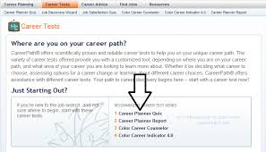Career Assessment Test Free Lwt425 Employment Resources And The Job Finding Process