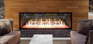 heat glo foundation see through gas fireplaces