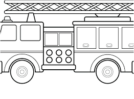 Printable Coloring Pages Of Fire Trucks Fire Truck Color Page Free