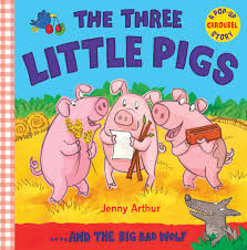 the three little pigs and the big bad wolf jenny arthur 9781848570474 amazon books