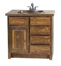 Pine Bathroom Cabinet Faux Barn Wood Vanity Rustic Furniture Mall By Timber Creek