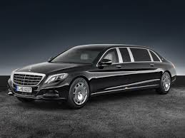 Armored Mercedes-Maybach S600 Pullman Guard limo: PICTURES ...