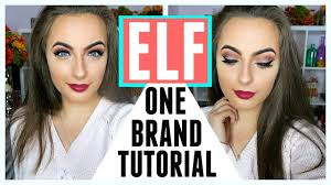 elf one brand makeup tutorial first impressions mini reviews audiomania lt