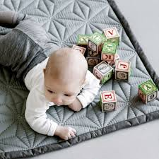 Cam Cam Organic Baby Blanket Sashiko Mint | Things I love ... & Nice soft GOTS-certified quilt for the baby. Can be used both as a  bedspread and to play in the floor. Simple and beautiful graphical design  with the ... Adamdwight.com