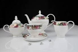 Чайный сервиз Цветущий сад на 6 персон 15 пр 125r - Агрономоff