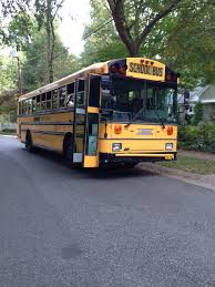 smells like teen spirit conversion of 1999 thomas mvp school this is my bus it is a 1999 thomas mvp re i believe 72 passenger it has a cat 3126 7 2 liter inline 6 turbodiesel engine electroncally controlled