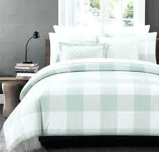 miller bedding king duvet cover set stripe checd square plaid pattern nicole queen