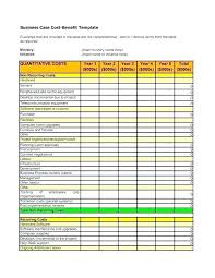 Cost Analysis Example Project Cost Analysis Template Example Simple Benefit Software