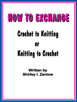 Convert Picture To Knitting Chart How To Exchange Knitting To Crochet Or Crochet To Knitting