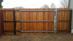cedar fence metal gate Alpine Fence of Colorado LLC