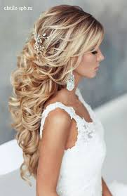 hair goals and chandelier earrings for your wedding
