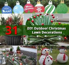 31 diy outdoor lawn decorations