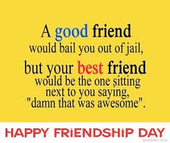 Happy Quotes About Friendship Interesting Happy Friendship Day 48 Messages Wishes SMS To Share On
