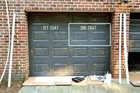 metal garage door paint painting garage door metal