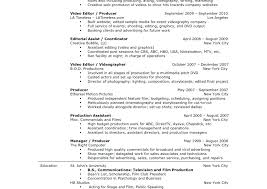 Cover Letter Production Assistant Post Production Resume Breathelight Co