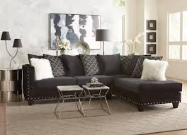 black sectional sofas. Fine Sofas Uptown Black Collection Sectional Sofa On Sofas A