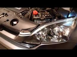 CR-V (2009) Замена лампы <b>ксенон</b> - YouTube