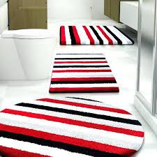 5 piece bathroom rug sets red set or bath carpet cut to order mats best scroll 5 piece bathroom rug sets
