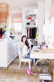 desk in walk in closet. Brilliant Closet Dream Closet Office Leopard Carpet White Gold Desk Chandelier Mirrored  Shelves Tour Better Decorating Bible Blog For Desk In Walk Closet S