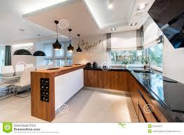 Modern Kitchen Interiors Modern Kitchen Interior Design Stock Photo Image 50484629