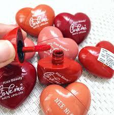 cutie heart shaped matte lipstick
