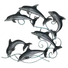 dolphin metal wall art pod of dolphins metal wall art large metal dolphin wall art on large metal dolphin wall art with dolphin metal wall art pod of dolphins metal wall art large metal