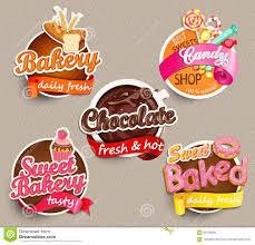 Label Design Templates Food Label Or Sticker Design Template Stock Vector Illustration Of