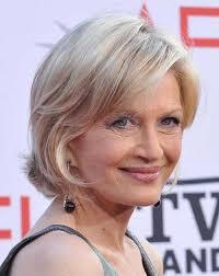 blonde layered short hair for women over 70