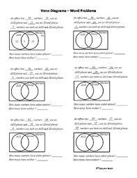 How To Solve Venn Diagram Word Problems Venn Diagrams Word Problems