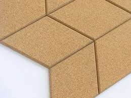 diamond cork tile