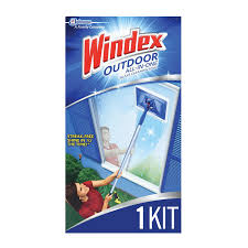 windex outdoor all in one glass cleaning tool starter kit 1 ct com
