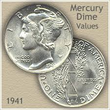 1941 Dime Value Discover Your Mercury Head Dime Worth