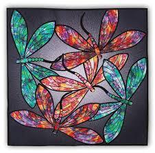 Dance of the Dragonflies Quilt Kit & Optional Swarovski Hotfix ... & Dance of the Dragonflies Quilt Kit & Optional Swarovski Hotfix Crystal Set  by Joann HOffman Adamdwight.com