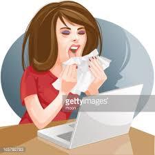 Resultado de imagem para flu cartoon girl