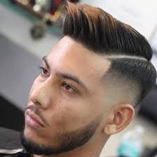 2017 Short Hairstyles For Men Or Brush Back With Short Sides And