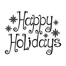 happy holidays black and white. Perfect Holidays Happy Holidays White Background To Happy Holidays Black And White H