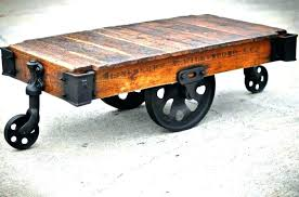 factory cart coffee table superb factory cart coffee table factory