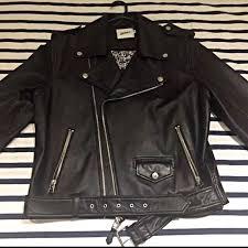 jean paul gaultier for target mens leather jacket men s fashion on carou