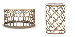 alluring brass side table with save or splurge brass and glass coffee tables